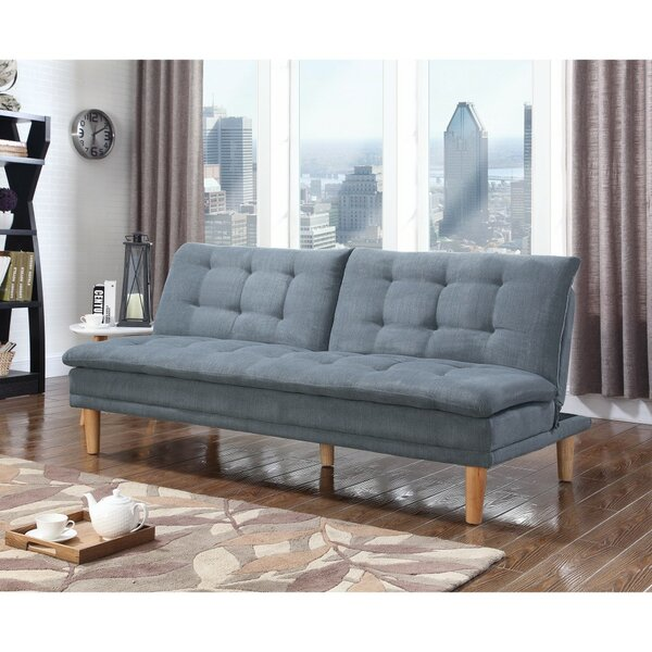 Dubreuil Tufted Modern Convertible Sofa by George Oliver