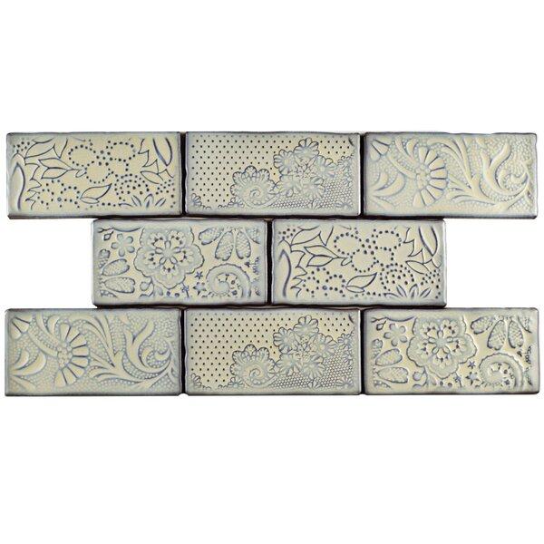 Antiqua 3 x 6 Ceramic Subway Tile in Feelings Pergamon by EliteTile