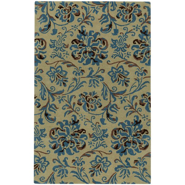 Monaco Hand Tufted Opal Azul Area Rug by Capel Rugs