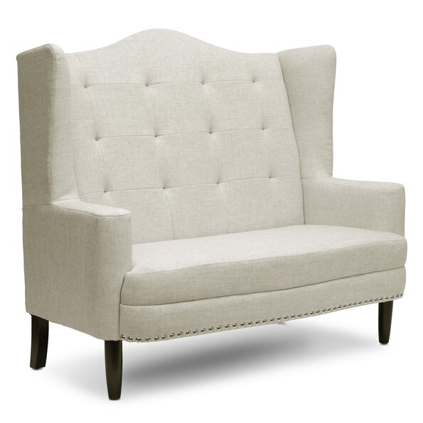 Baxton Studio Kerrigan Contemporary Settee by Wholesale Interiors