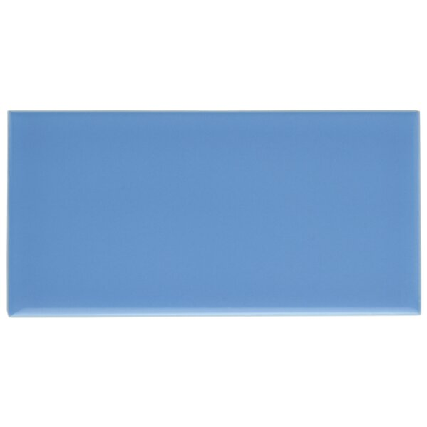 Prospect 3 x 6 Ceramic Subway Tile in Blue by EliteTile