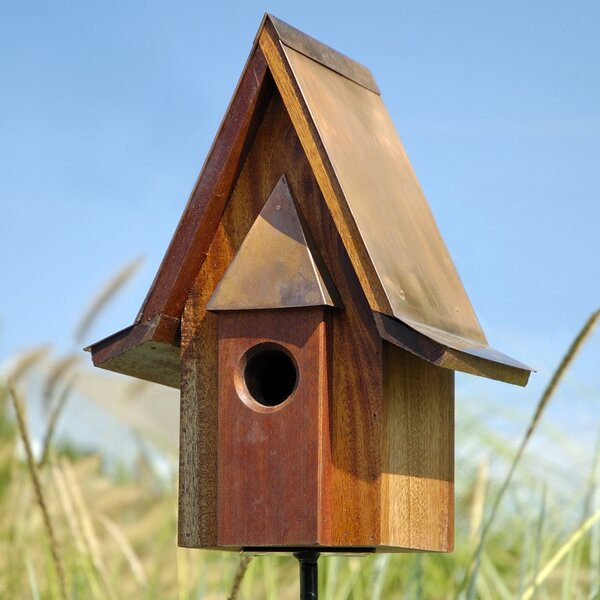 Chateau 14 in x 11 in x 7 in Birdhouse by Heartwood