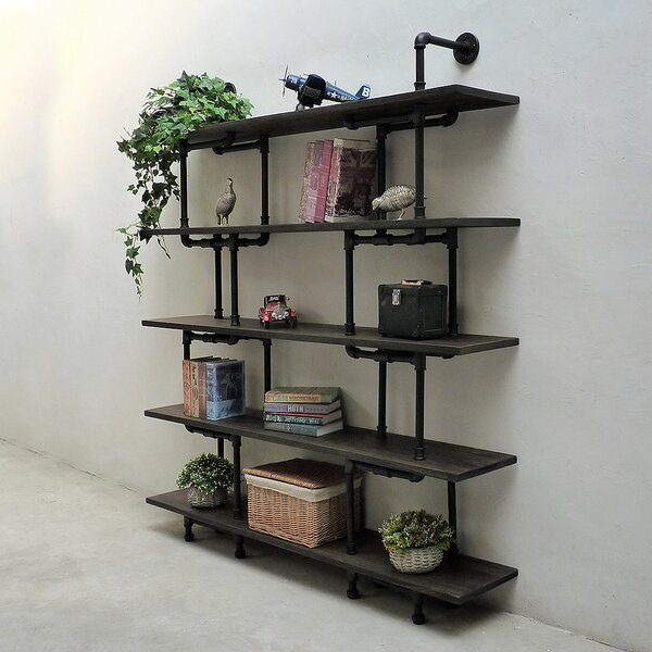 Eugene Etagere Bookcase by Furniture Pipeline LLC