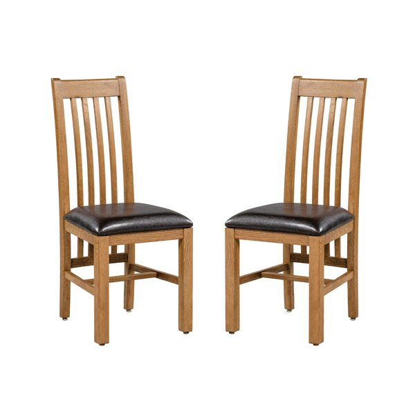 Covarrubias Upholstered Dining Chair (Set of 2) by Loon Peak