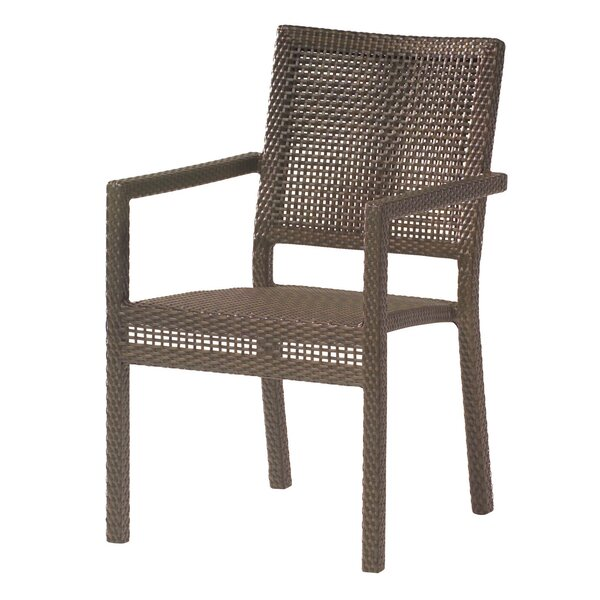 All-Weather Miami Stacking Patio Dining Chair by Woodard