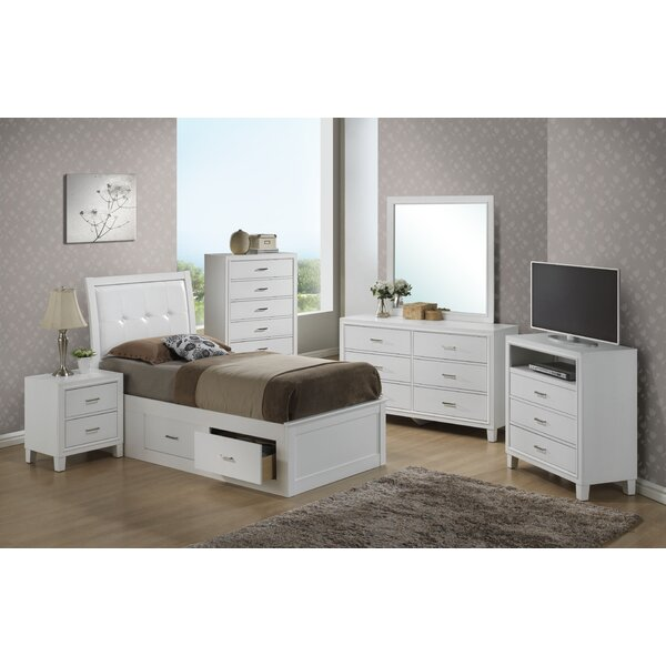 Hoytville Panel Configurable Bedroom Set by Three Posts
