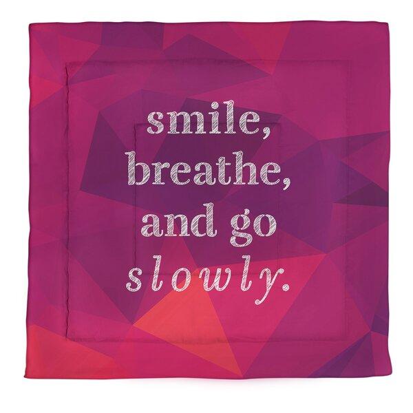 Go Slowly Single ReversibleComforter