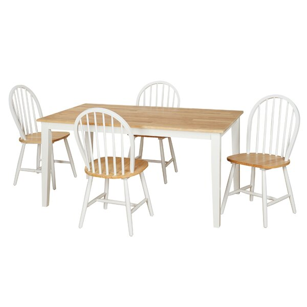 Windsor 5 Piece Dining Set by TMS