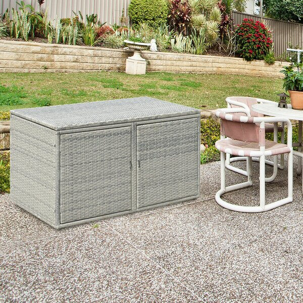 88 Gallon Garden Patio Storage Deck Box by Costway Costway