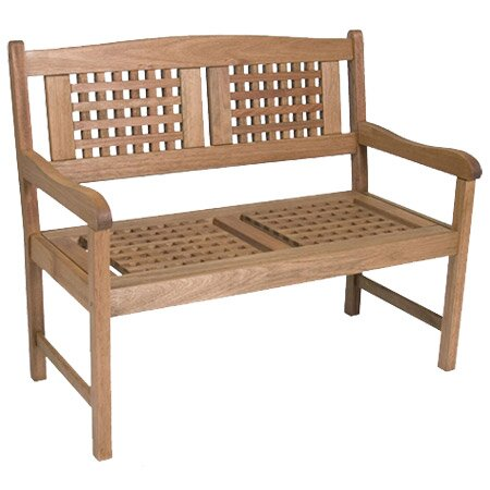 Elsmere Wood Garden Bench by Beachcrest Home