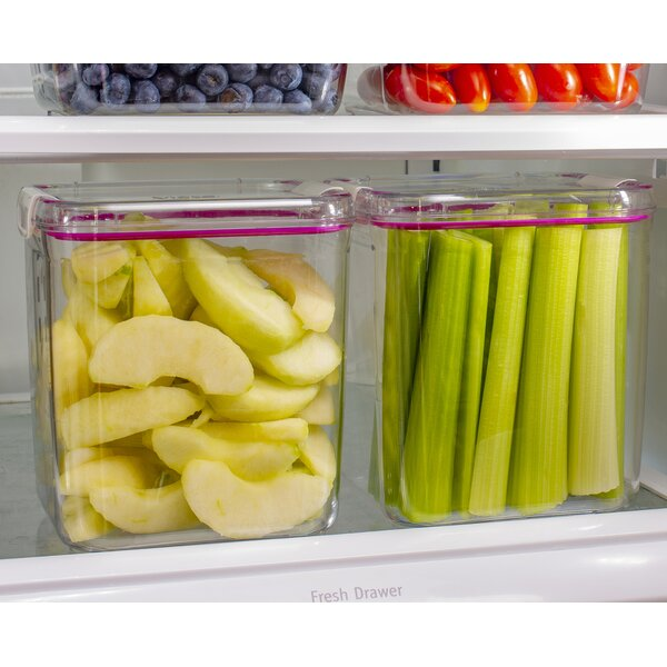 Fuentes 2.75 Qt. Food Storage Container (Set of 8) by Rebrilliant