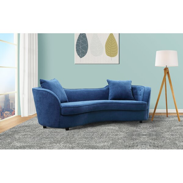 In Vogue Kizer Contemporary Sofa by Everly Quinn by Everly Quinn