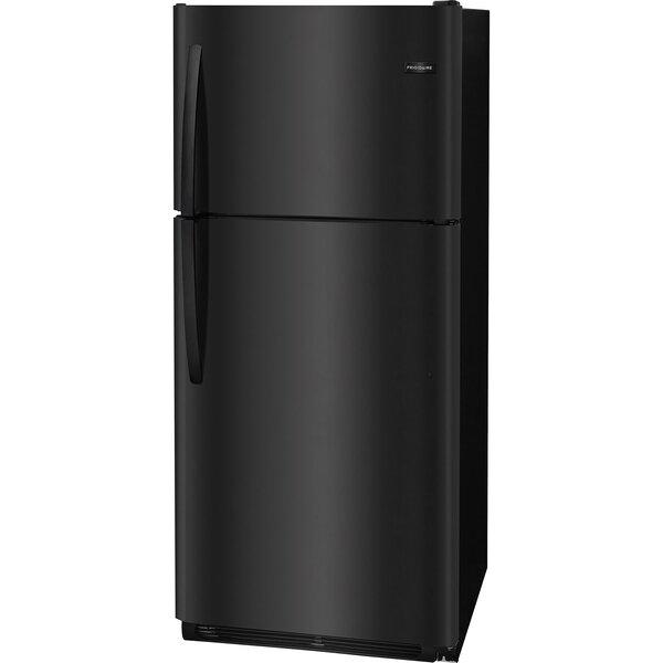 20.4-Cu. Ft. Top Freezer Refrigerator - Black by Frigidaire