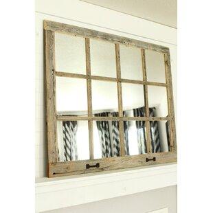 Millwood Pines Fondren Farmhouse 12 Windowpane Accent Mirror