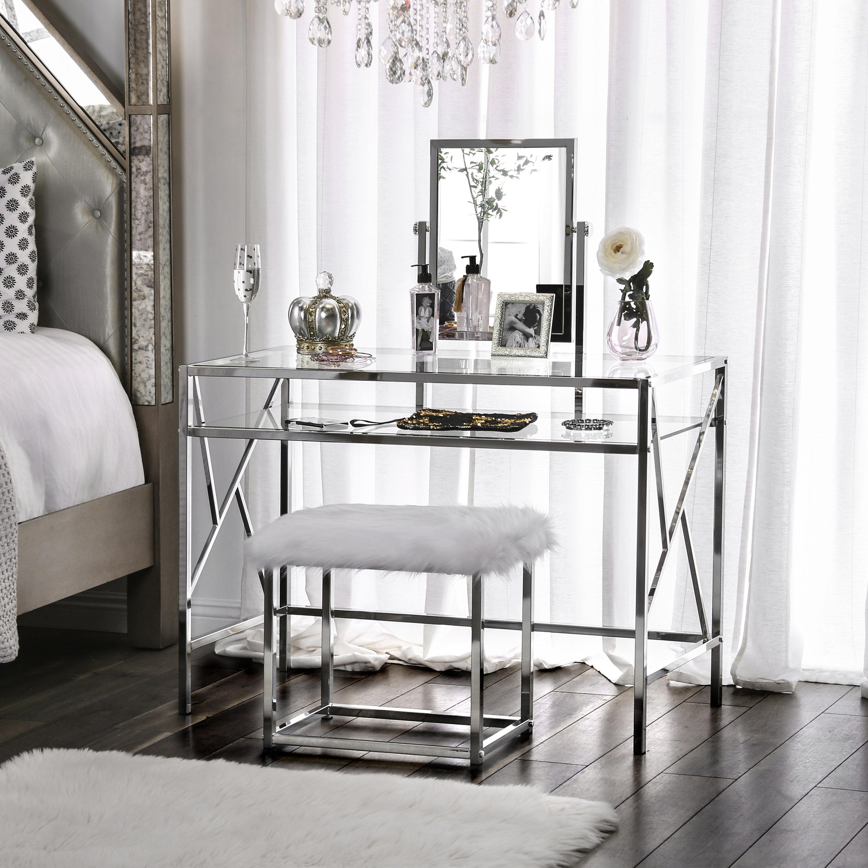 Bedroom Makeup Vanity Sets You Ll Love In 2021 Wayfair