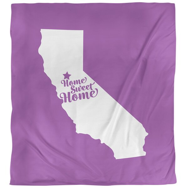 Home Sweet Sacramento Single Duvet Cover
