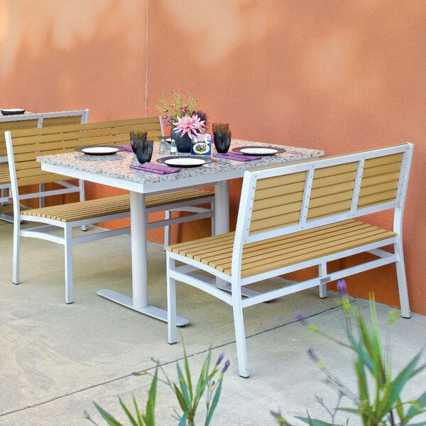 Lambright 3 Piece Teak Bistro Set by Latitude Run