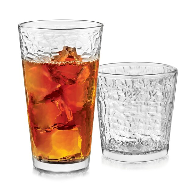 Frost 16 Piece Glass Assorted Glassware Set by Libbey