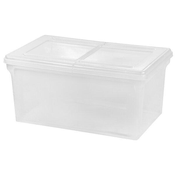 Letter Size File Box Storage (Set of 5) by IRIS USA, Inc.