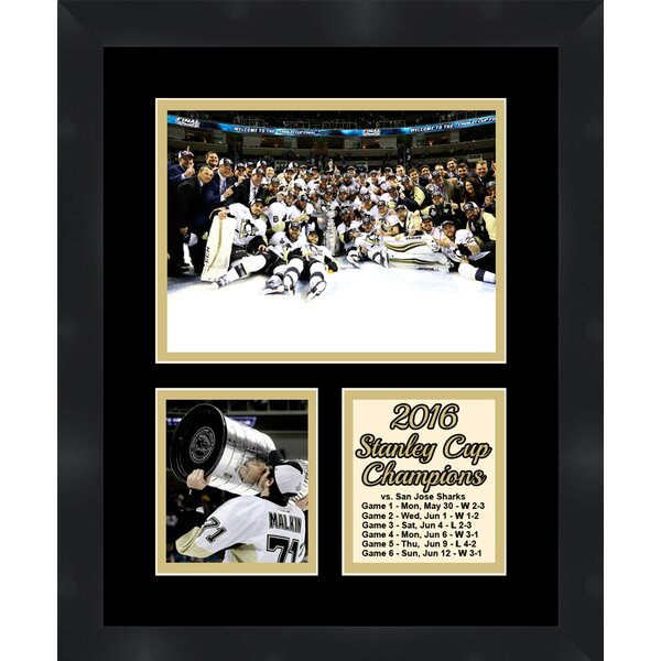 Pittsburgh Penguins Evgeni Malkin Collage Framed Photographic Print by Frames By Mail