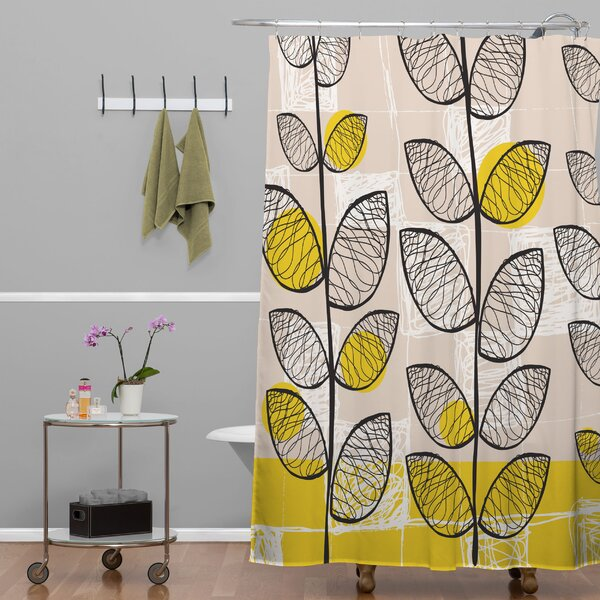Rachael Taylor 50s Inspired Shower Curtain by Deny Designs