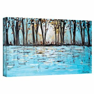 'Wonderland' Painting Print on Wrapped Canvas by Andover Mills