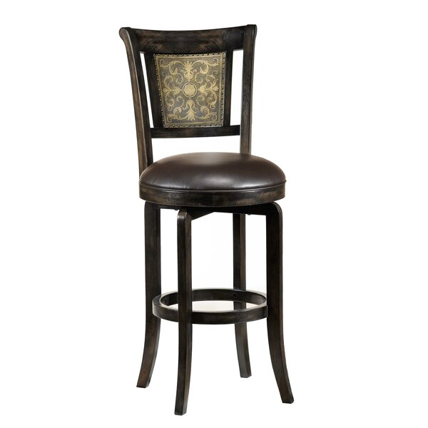 Camille 26.5 Swivel Bar Stool by Hillsdale Furniture
