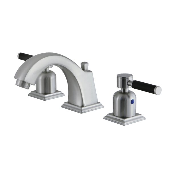 Kaiser Widespread Bathroom Faucet with Drain Assembly by Kingston Brass Kingston Brass