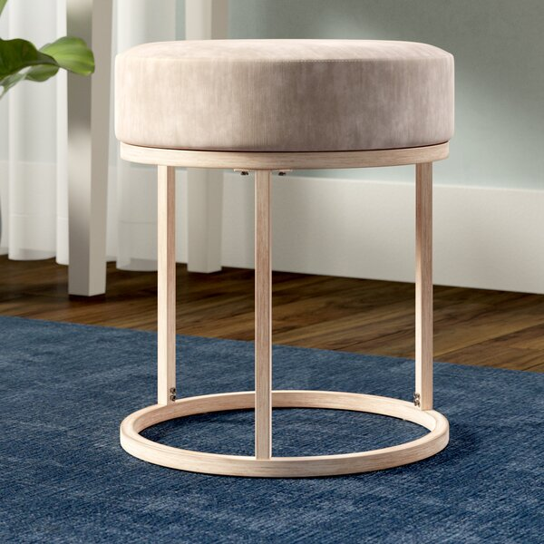 Veiga Vanity Stool by Wrought Studio