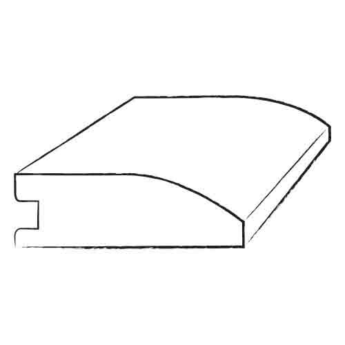 0.39 x 1.8 x 78 Cherry Reducer by Moldings Online
