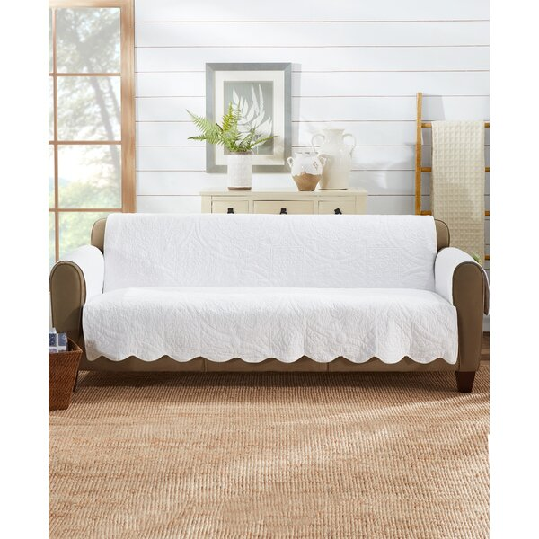 Heirloom Quilted Box Cushion Sofa Slipcover By Sure Fit