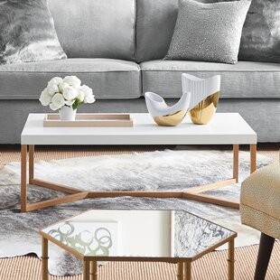 Trivia Coffee Table with Tray Top
