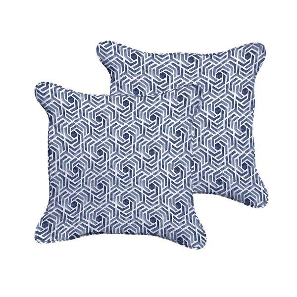 Breslin Indoor/Outdoor Throw Pillow (Set of 2) by Wrought Studio