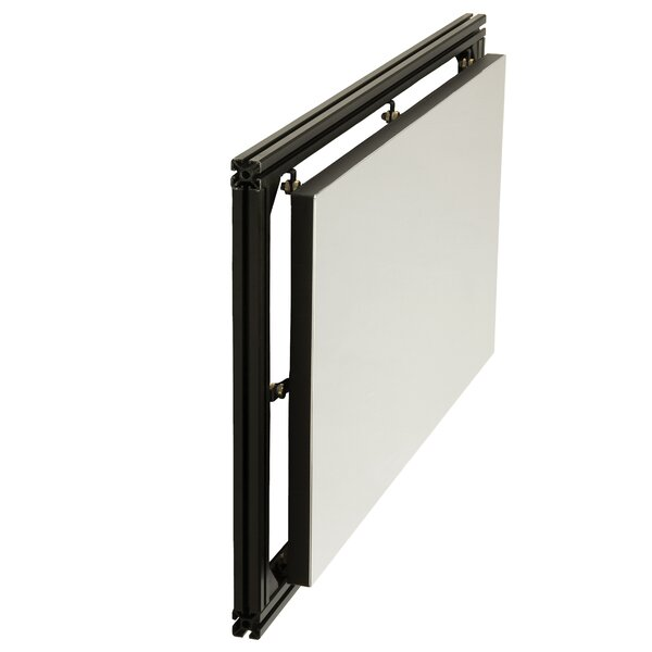 White Fixed Frame Projection Screen by Da-Lite