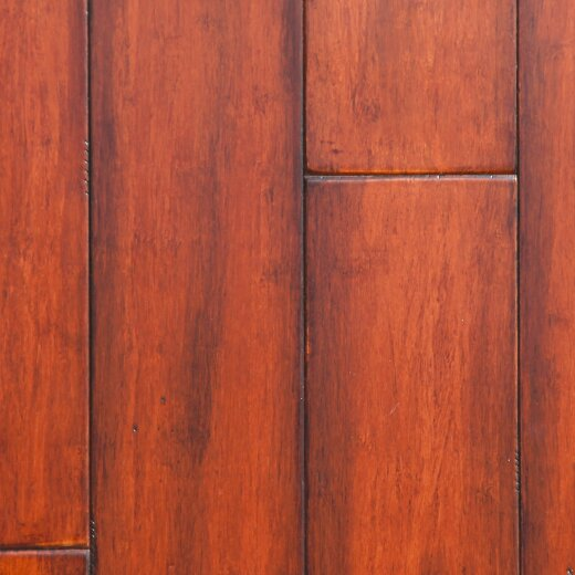 5 Engineered Strand Woven Bamboo Flooring in Antique Amber by Easoon USA
