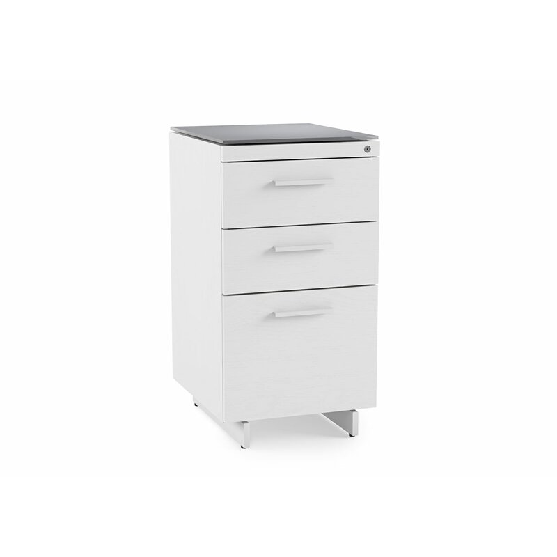 Centro 3-Drawer File Cabinet  sc 1 st  AllModern : three drawer file cabinet - Cheerinfomania.Com