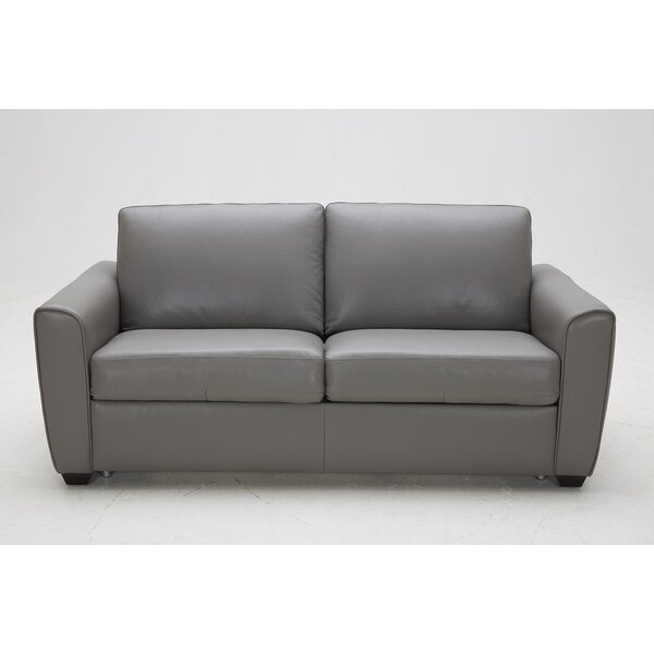 Excellent Reviews Jasper Leather Sleeper by J&M Furniture by J&M Furniture