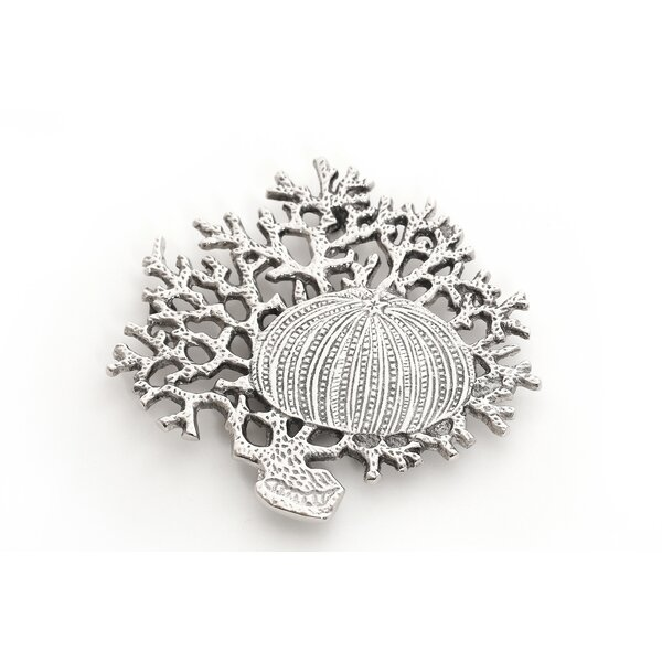 Coral & Shell Trivet by Star Home