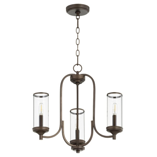 Macomb 3 - Light Shaded Classic / Traditional Chandelier By Wrought Studio
