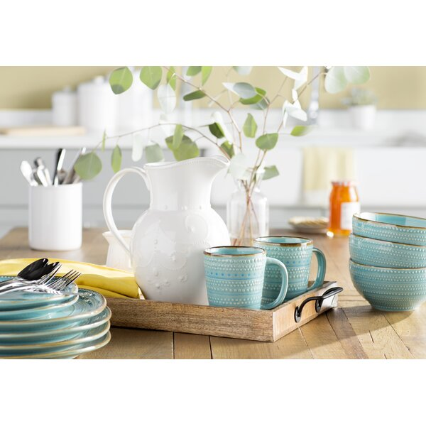Freetown 16 Piece Dinnerware Set, Service for 4 by Mistana