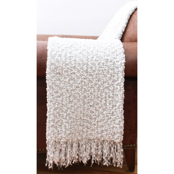 Blackwell Knit Sequin Throw by House of Hampton