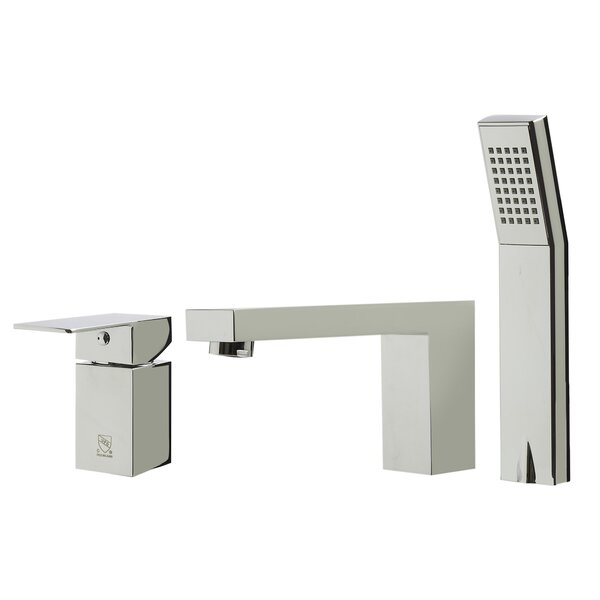 Single Handle Deck Mounted Roman Tub Faucet with Diverter by Alfi Brand Alfi Brand