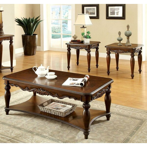 Tryphosa 3 Piece Coffee Table Set By Astoria Grand