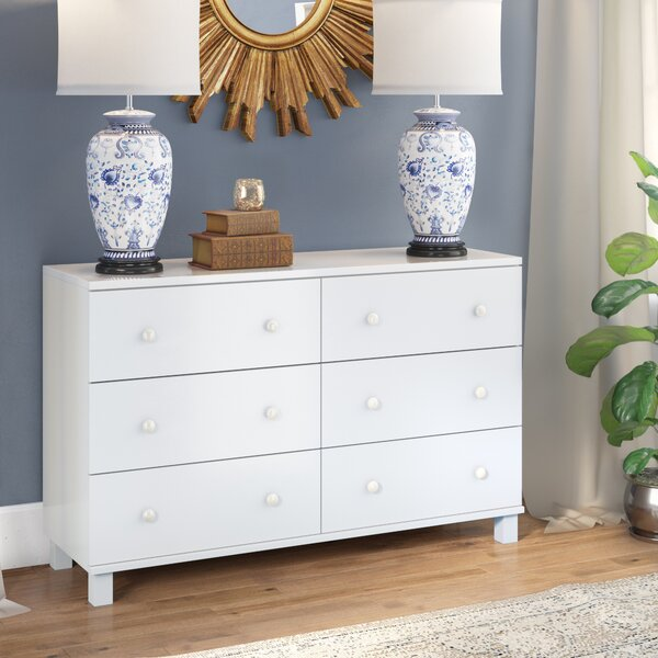 Cheswick 6 Drawer Double Dresser by Winston Porter