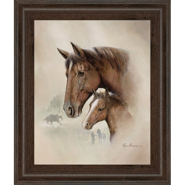 Race Horse I by Ruane Manning Framed Photographic Print by Classy Art Wholesalers