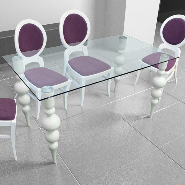 Delux Dining Table by Wrought Studio Wrought Studio