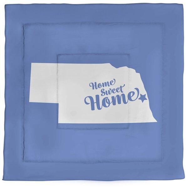 Omaha Home Sweet Single Reversible Comforter