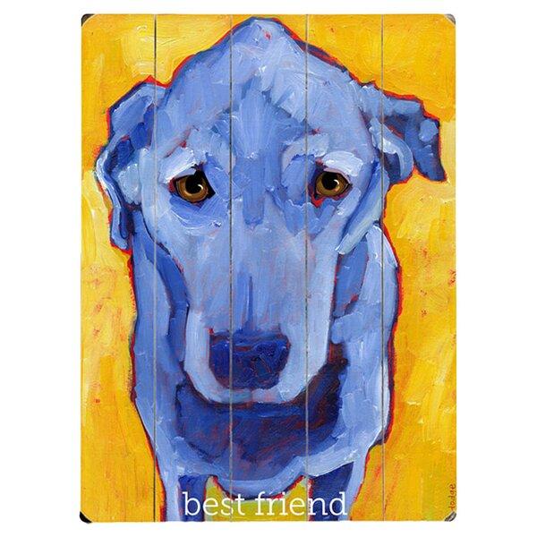 Best Friend Drawing Print Multi-Piece Image on Wood by Artehouse LLC