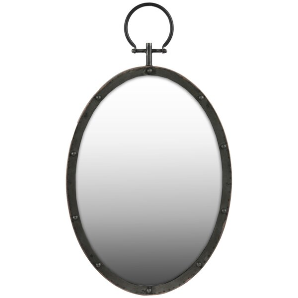 Oval Wall Mirror by Urban Trends