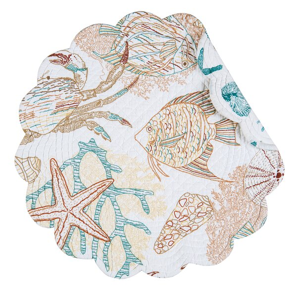 Key Biscayne Placemat (Set of 6) by C&F Home